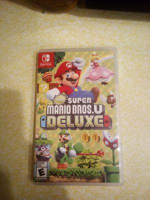Super Mario Bros. U Deluxe for Sale in Pawtucket, RI