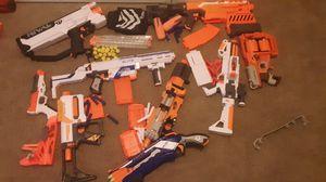 Nerf Gun lot (READ DESC) for Sale in Leesburg, VA