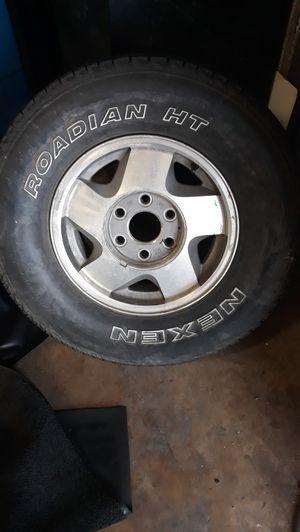 6 lug pattern wheel for Sale in Arlington, TX