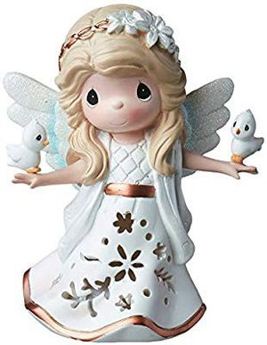 New Precious Moments Perfect Peace and Love LED Light Up Resign Figurine for Sale in San Jose, CA