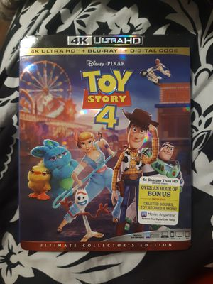 Toy Story 4 4k ultra HD for Sale in Federal Way, WA