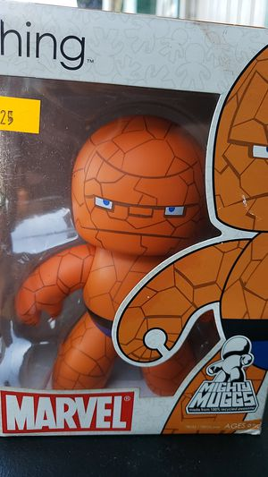 COLLECTIBLE ACTION FIGURE MARVEL MIGHTY MUGGS THE THING IMPORT 2007 for Sale in Montebello, CA