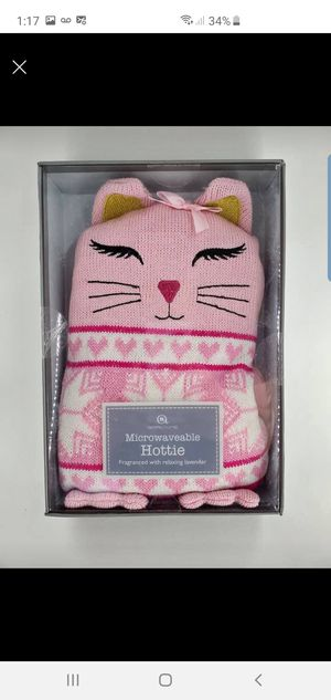AromaHome Microwaveable Hottie Fragranced With Relaxing Lavender for Sale in San Leandro, CA