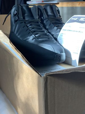 FSOT Air Jordan 12 Winterized Size 10, trade for 10.5 for Sale in Los Angeles, CA