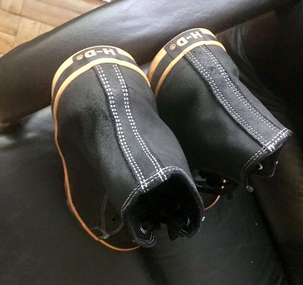 "harley davidson shoes 13"" used"