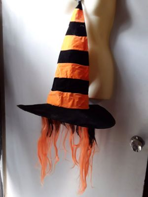 Witches hat with wig attached for Sale in Los Angeles, CA