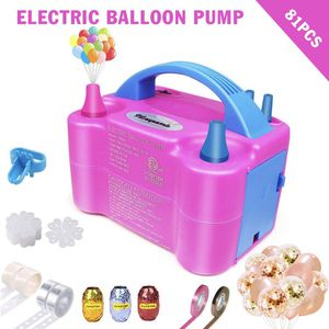 Electric Balloon Pump, Portable Dual Nozzle Blower Pump/Inflator for party decoration, Birthday, Wedding, Events with balloons and other accessories for Sale in Las Vegas, NV