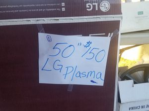 50 inch LG plasma for Sale in Peoria, AZ