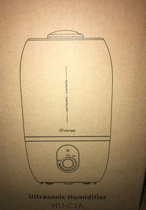 Ultrasonic humidifier for Sale in Los Angeles, CA