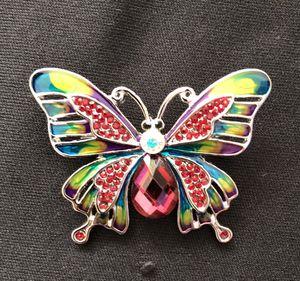 Butterfly rhinestone brooch for Sale in Sarasota, FL