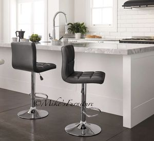 Brand new 2 black bar stools (shipping is available) for Sale in Orlando, FL