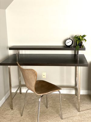 West Elm Modern, Industrial Desk and File Cabinet for Sale in Charlotte, NC