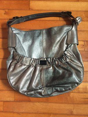 Burberry large metallic silver handbag for Sale in Virginia Beach, VA