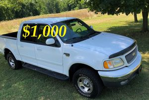 $1,OOO For sale URGENT 2OO2 Ford F-150 XLT Super Crew Cab 4-Door Pickup Everything is working great! Runs great and fun to drive! for Sale in Arlington, VA