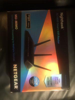 Nighthawk ac1900 smart WiFi router for Sale in Austin, TX