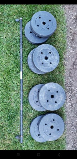 Weight Set - 100lbs for Sale in Maple Valley, WA