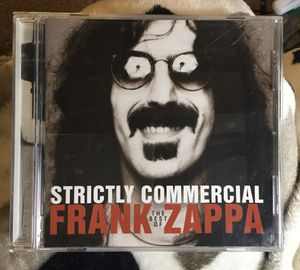 Strictly Commercial: The Best Of Frank Zappa Original CD Pristine Condition FREE SHIP WITH PAYPAL for Sale in Fenton, MO