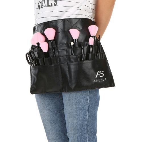 Leather makeup belted apron