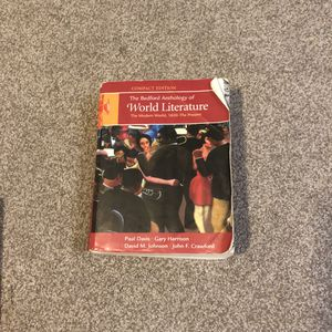The Bedford Anthology of World Literature (Volume 2) for Sale in Tempe, AZ