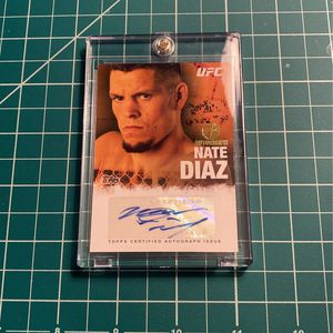 Nate Diaz Rookie Auto UFC Card for Sale in Bethel, CT
