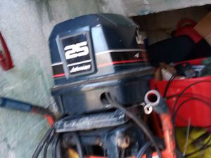 25hp great reliable outboard for Sale in Miami Beach, FL