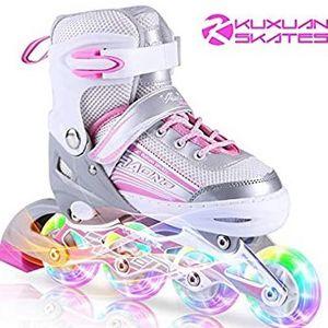 Kuxuan Inline Skates Adjustable- Size Small (kids 10-13) for Sale in Marietta, GA
