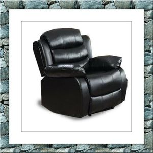 Black recliner chair free delivery for Sale in Crofton, MD