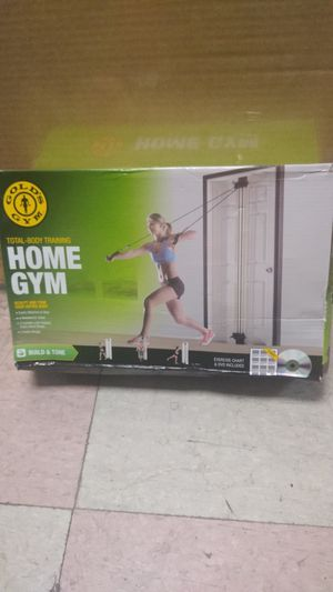 Gold's Gym total body training home gym for Sale in Philadelphia, PA