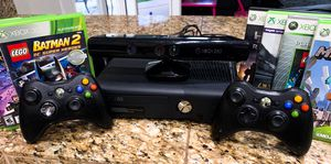 Xbox 360 with Kinect and over 12 games ! for Sale in Phoenix, AZ