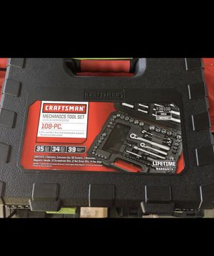Craftsman tools 108 pcs for Sale in Cudahy, CA
