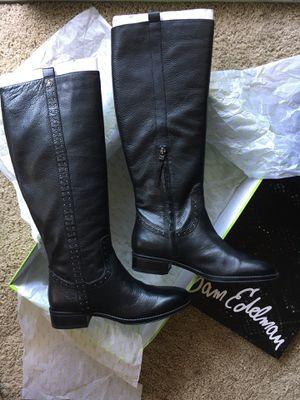 Black leather boots Sam Edelman - Brand New for Sale in Vienna, VA