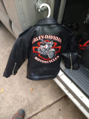 Official Harley Davidson jacket for a child for Sale in Garland, TX