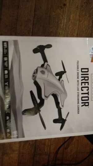 Protocol Director foldable Drone With Live Streaming with 3 camera's for Sale in Houston, TX