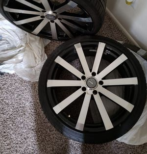 20inch tire and rims for Sale in Odessa, TX