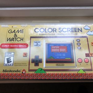 Nintendo Game and Watch Super Mario Bros for Sale in Fresno, CA