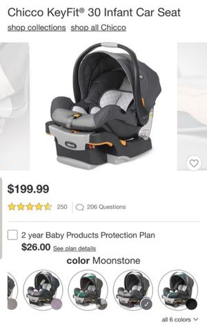 Chicco infant car seat for Sale in Huntington Park, CA