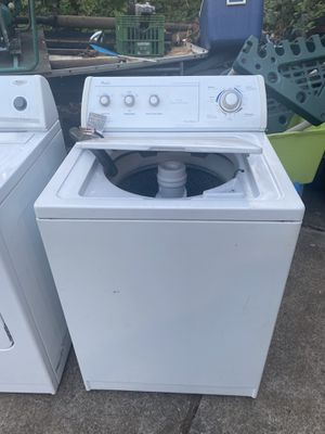 Whirlpool washer/dryer- works great - just upgraded to double capacity for Sale in Gresham, OR