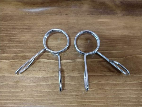 """Olimpic Curl EZ Bar 47"""" Long Clamps included"""