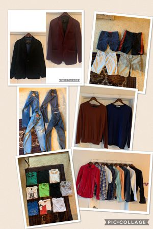 Hugo Boss, Armani , D&G , Ralph Lauren, True Religion, and much more assorted Men Clothing Size Medium & Large .. Plz see details for Sale in Los Angeles, CA
