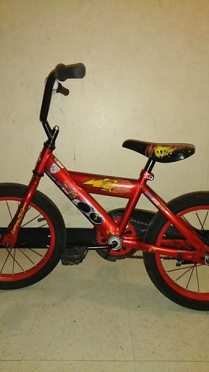 It's a cars kid bike cycle for Sale in Philadelphia, PA