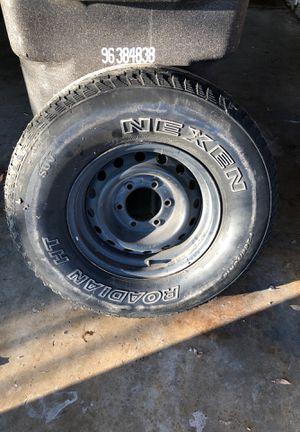 Spare tire 265/70r15 for Sale in San Antonio, TX
