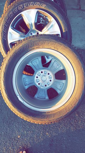 Bridgestone tire Dueler H/L brand new with wheels for Sale in Fresno, CA