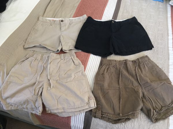 Women's Shorts 2 size 4 and 2 size Petite Small all for for $8