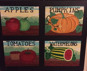 20x16 Fruit painting for Sale in Rancho Cucamonga, CA