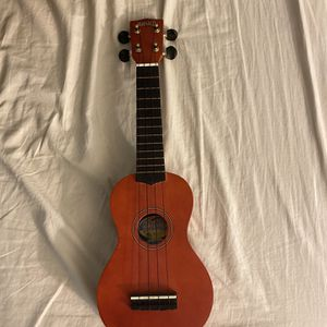 Mahalo Brown Soprano Ukulele Instrument Comes With Black Carrying Bag for Sale in San Jose, CA