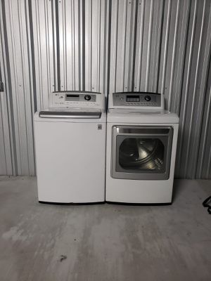 Lavadora y secadora Eléctrica ⚡️‼️washer and dryer ⚡️ for Sale in Houston, TX