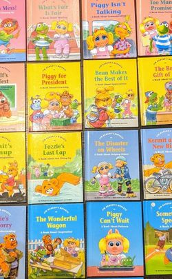 Kids Books- Collectable Muppets Good Behaviors Hardcover Picture Books for Sale in Vancouver,  WA