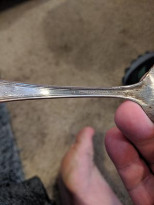 WM Rogers and son aa 1895 silver coated spoon for Sale in Portland, OR