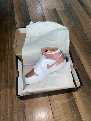 AIR JORDAN 1's WHITE ROSE GOLD Size 7 for Sale in Houston, TX