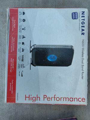 Netgear N600 dual band wireless router WNDR3500 for Sale in Sunnyvale, CA